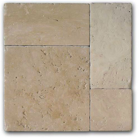 Time Worn Light Travertine