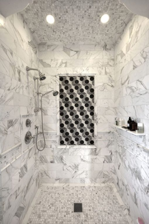 Calacatta Shower