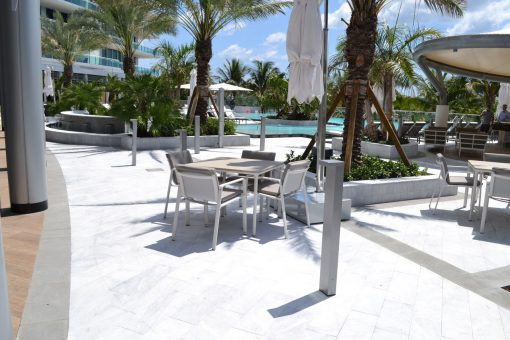 Calacatta Gold Marble Paver