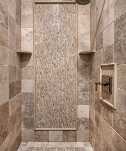 Jerusalem Grey Gold Limestone Shower