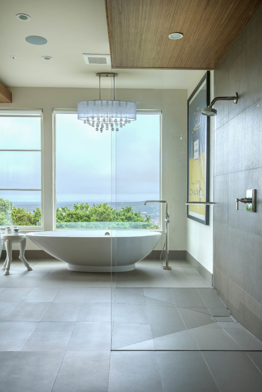 Porcelain Tile Bathroom