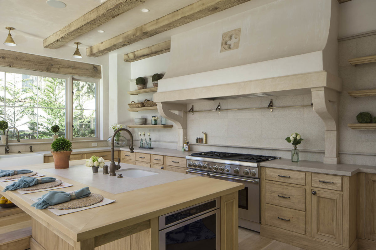 Limestone Kitchen Idea