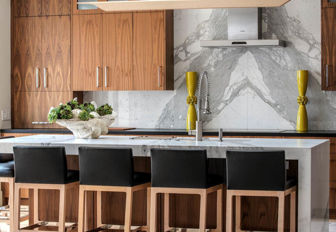 - Calacatta Marble Backsplash Slab - Carmel Stone Imports Palo Alto