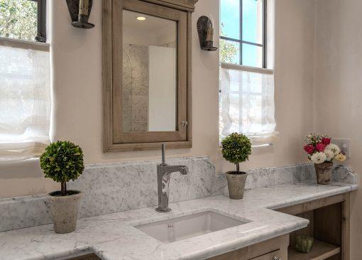 Bianco Carrara Marble Bathroom