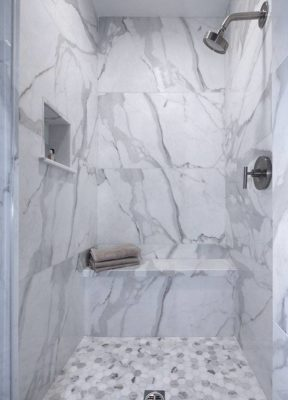 Calacatta Marble Shower