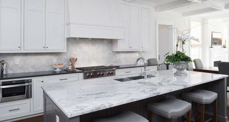 Statuario Marble Kitchen