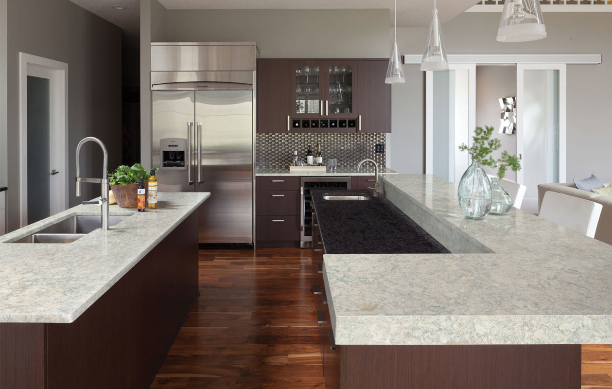 Cambria Montgomery Quartz Kitchen