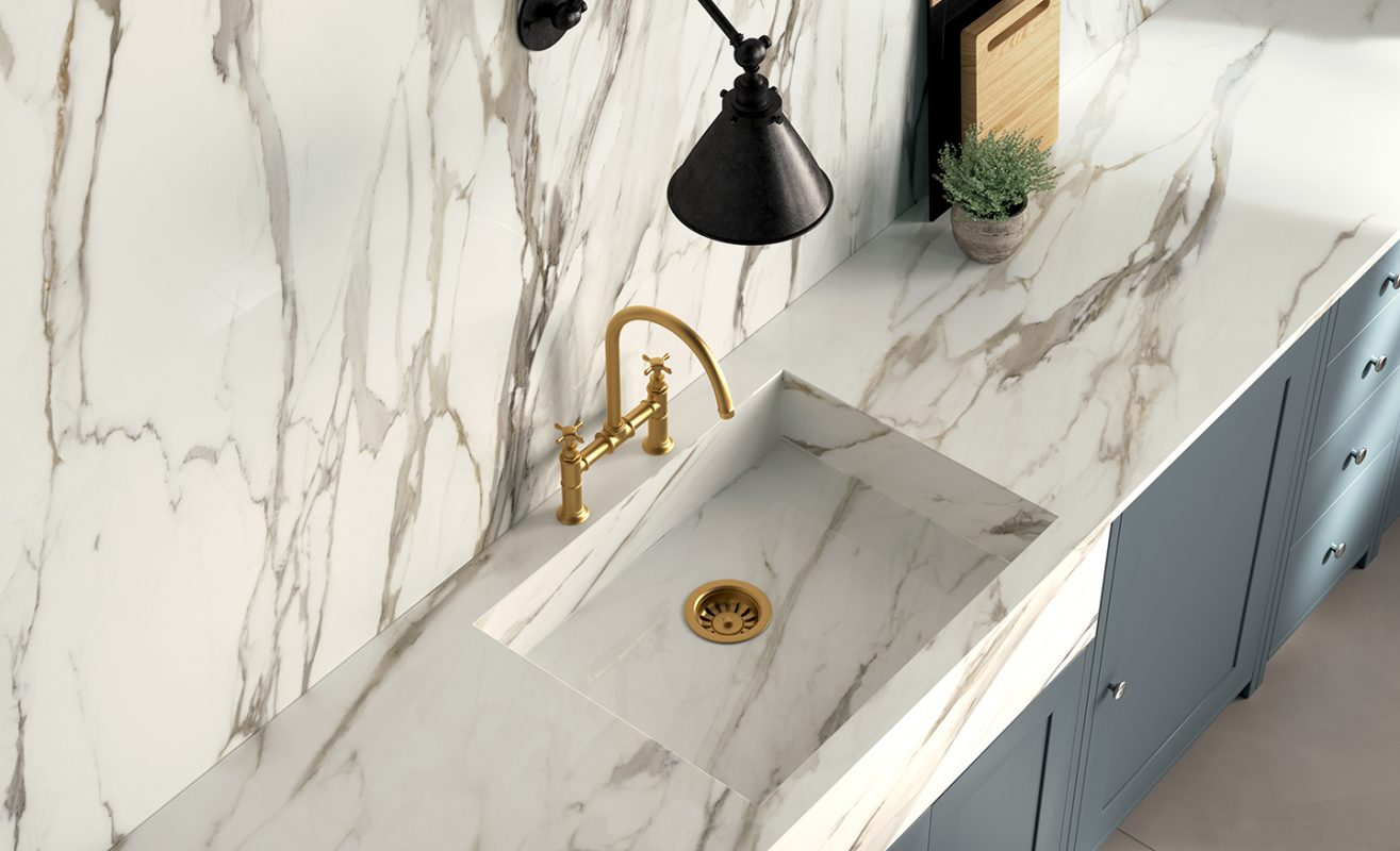 Why Porcelain Slab Countertops are a Great Idea - Carmel