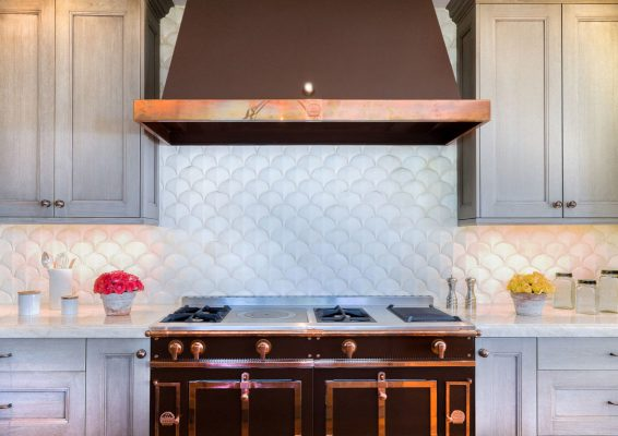 CERAMIC WHITE TEAR DROP BACKSPLASH TILE